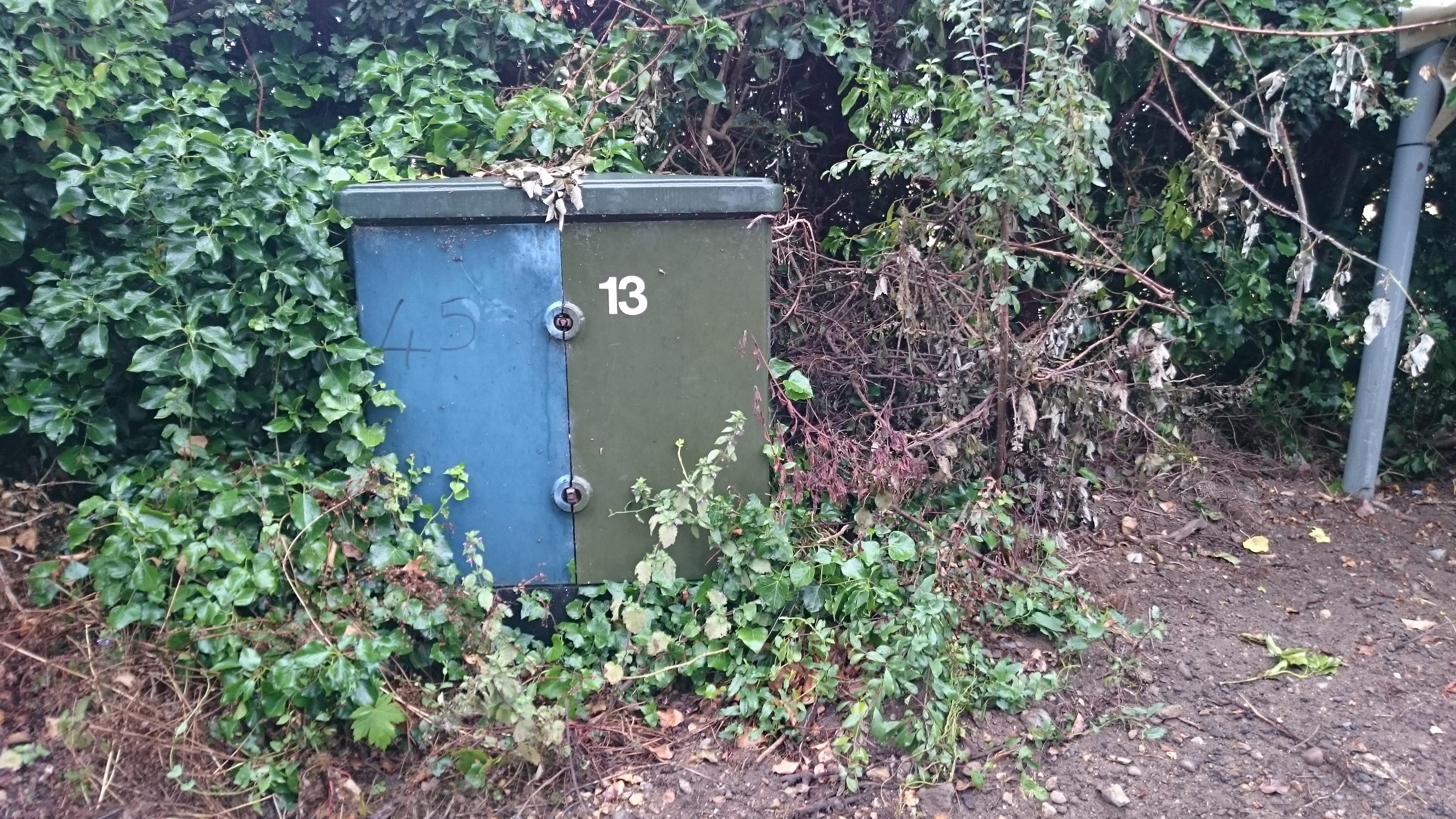 Fibre Optic Cabinet Checker A New Box For Fibre Broadband Bt Infinity Postwick Norwich